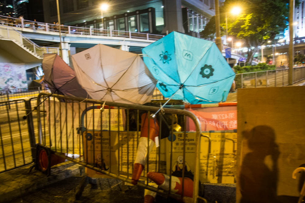 The movement has become known as the Umbrella Revolution because many protesters carry umbrellas to shield them from tear gas.