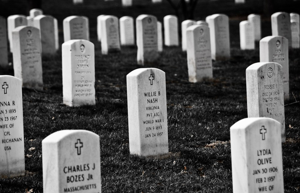 Arlington National Cemetery is a powerful reminder of the cost of freedom. So many tombstones; so many families mourning their loved ones who served to protect that freedom.